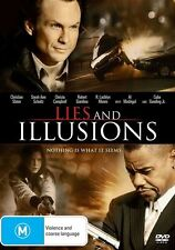 LIES AND ILLUSIONS (2009) EX RENTAL DISC ONLY CAN POST 4 DISCS FOR $1.40