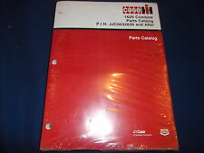 CASE 1620 COMBINE PARTS BOOK MANUAL P.I.N. JJC0032630-UP