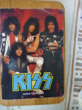 F/S Kiss Japan 1988 Tour concert 88 program photo book From Japan Good condition