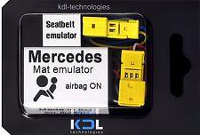 For Mercedes CLK W209 2002-05 Bypass Seat Occupancy Mat Sensor Airbag Emulator