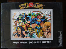 Super DC Heroes Magic Effects 500 Piece Puzzle 2000