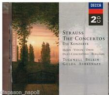 Strauss: The Concertos (I Concerti) / Tuckwell, Belkin, Gulda, Ashkenazy - CD