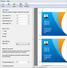 Cardworks , Design your own printable business cards NCH Software