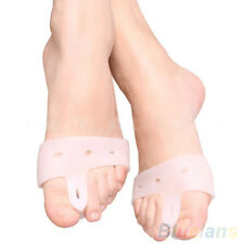 1 PAIR SOFT SILICONE TOE SEPARATORS BUNION ORTHOTICS PAIN RELIEF FOOT PROTECTOR