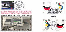 2004 Entente Cordiale - Benham Channel Tunnel Official - Railway Stamp 1