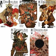 DRAGON AGE: MAGEKILLER (5) comic SET #1 2 3 4 5 Dark Horse 1st print lot