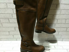 Ladies ALDO THESA Brown Over Knee Leather Boots UK 4 EU 37 US 6.5 RRP £150