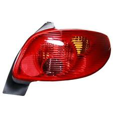 Red Rear Light Lamp Cluster Right Driver Side Replacement Peugeot 206 1998-On