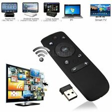 2.4GHz Wireless Fly Air Mouse Keyboard Remote 3D Motion Stick for Android TV Box