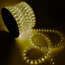 150'FT 110V LED Rope Lights Christmas Xmas Home Yard Decorative Holiday Patio
