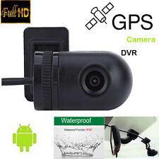 140° USB Mini Waterproof HD Camera for Android Car GPS Unit USB DVR Function New