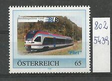 """Österreich PM personalisierte Marke Eisenbahn """"Berchtesgadener Bahn"""" **"""