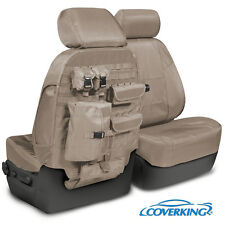 NEW Tactical Ballistic Cashmere / Tan Seat Covers w/Molle System / 5102070-28