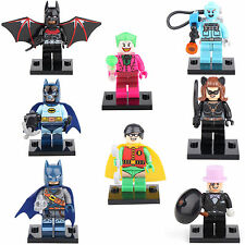 Suicide Squad Batman Beyond Catwoman Freeze 8 Minifigures Building bricks lEGO