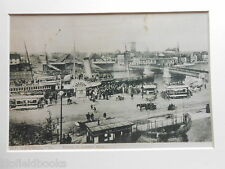 Great Yarmouth Mounted Edwardian Photograph; Arrival of the London Boat c1910 Re