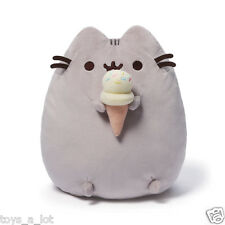 "Gund Pusheen Plush with Ice Cream Cone 9.5""  IN STOCK"