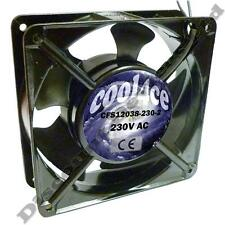 12cm/120mm/120x120x38mm 230v ac/mains computer/pc/cpu Silenciosa De Enfriamiento Case Fan