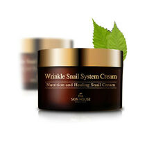 Korean The Skin House Wrinkle Snail System Cream Nutrition and Healing 100ml
