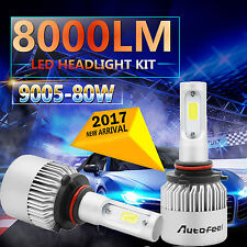 Cree LED Headlight Bulbs Kit 9005 HB3 H10 9140 9145 80W 8000LM White 6000K-6500K