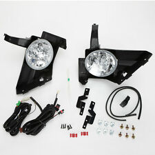 For 2005 2006 Honda CR-V CRV Clear Lens Driving Fog Light Kit w/Switch Wire Bulb