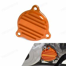Orange CNC Oil Filter Cover for KTM 350 EXC-F SIX DAYS FREERIDE 350 2012-2016