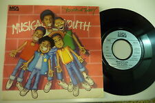 MUSICAL YOUTH 45T YOUTH OF TODAY / GONE STRAIGHT. MCA 104 919.