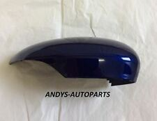 FORD FIESTA 08- WING MIRROR COVER LH OR RH SIDE MK7 IN FORD DEEP IMPACT BLUE