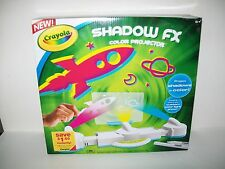 Crayola Shadow FX Color Projector Custom Color Light Show New