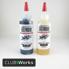 'Tour Set' shafting epoxy - Golf shaft glue/adhesive - 2 x 4oz bottles