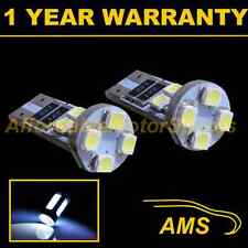 2x W5w T10 501 Canbus Error Free Blanca 8 Led sidelight Laterales Bombillos sl101605
