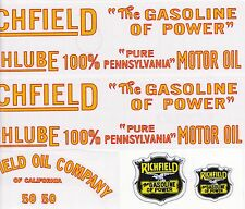 AMERICAN NATIONAL RICHFIELD DECAL SET