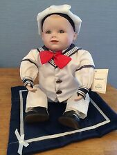 """Knowles Original Edition """"Matthew"""" Picture-Perfect Porcelain Doll, 1991"""