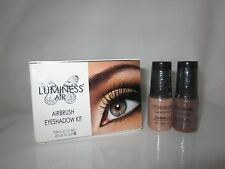 "New Luminess/Stream Air Airbrush Eyeshadow kit ""Natural "" ES27 & ES42 Free ship"