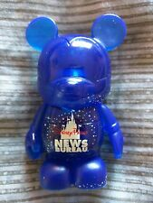 Vinylmation Disney Parks News Bureau Mickey Mouse figure with Tinkerbell RARE