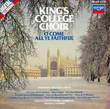 O Come All Ye Faithful: Christmas Carols at King's College, Cambridge CD