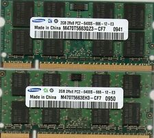 New 4GB 2x 2GB Kit Sony Vaio VGN-FW351J/H DDR2 Laptop/Notebook RAM Memory