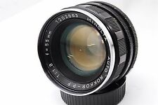 AS IS Minolta Auto ROKKOR-PF 1:1.8 55mm  55 1.8 Lens  Mirror  less #734