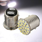 2x White 1157 T25 BAY15D 22 SMD LED Car Brake Stop Tail Signal Light Lamp Bulb