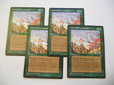 4x MTG Natura Incontaminata-Untamed Wilds Magic EDH LEGGENDE LEG ITA Italiano x4