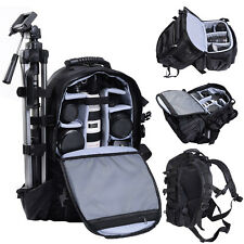 Goplus Deluxe Camera Backpack Bag Multifunctional Case Sony Canon Nikon DSL