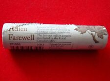 2012 CANADA FAREWELL TO THE PENNY - SPECIAL WRAP ROLL - No Tax