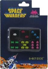 8-Bit Dice Space Invaders Set of 6 D6 by Turn One Gaming New in Box