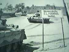 ephemera ww2 british 8th army in tanks at el hamma