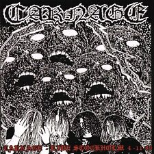 "Carnage ""Live in Stockholm 4.11.89"" MCD [LEGENDARY SWEDISH DEATH METAL]"