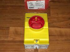 Interrupteur de proximite 16A triphasé poles legrand NEUF ref 22171