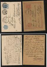Romania   2 postal  cards  used         KEL0101