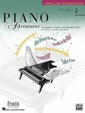 Piano Adventures - Level 5 : Popular Repertoire Book (2003, Paperback)