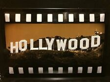 HOLLYWOOD Hills & Cinema Movie TIN SIGN  Wall Decor Star