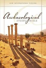 NIV Archaeological Study Bible: An Illustrated Walk Through Biblical History and
