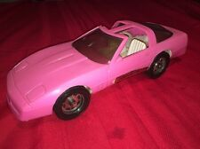 Vintage CHEVROLET CORVETTE Large Hot Pink BARBIE DREAM CAR Fashion Doll GAY TOYS